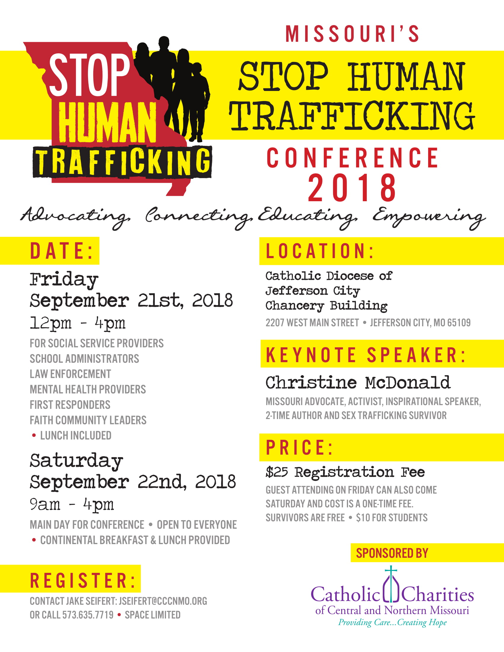 Anti-Human Trafficking | Catholic Charities of Central and Northern ...